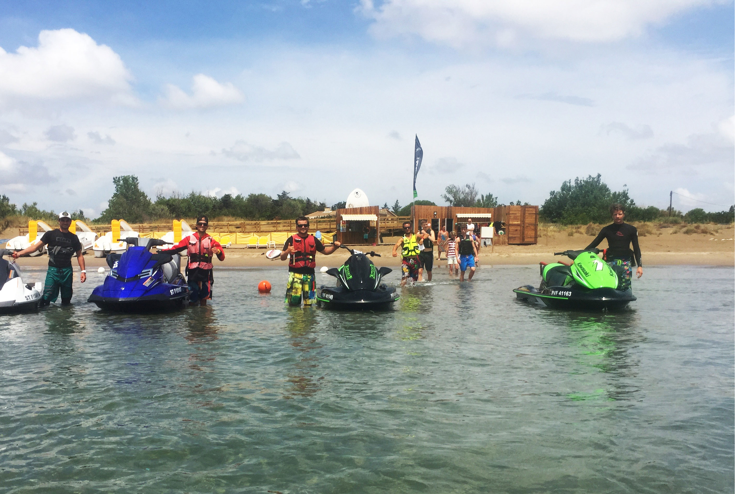sorties jetski playa watersports